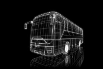 Coach - 3d construction