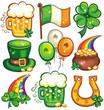 St. Patrick's Day icon set series 2