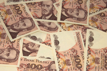Banknotes texture