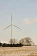 Indiana Wind Turbine over family home 2