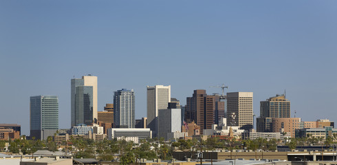 Downtown Panorama of Phoenix, Arizona