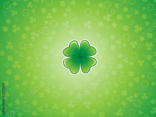 Shamrock Background 1