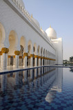 Sheikh Zayed Mosque in Abu Dhabi United Arab Emirates - 20741864