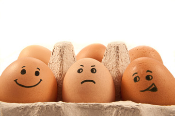 Egg characters.
