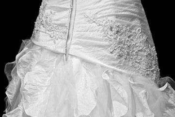 White Wedding dress