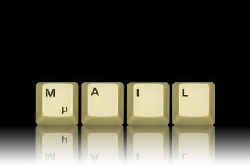 Mail schwarz