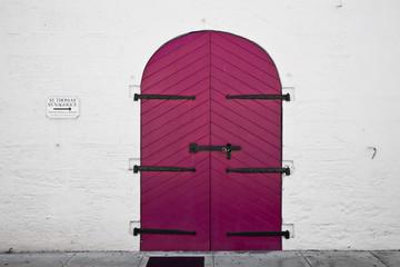 Door in Charlotte Amalie - USVI