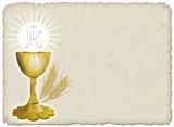 Religione Calice e grano-Religion Cup and Corn-2 poster