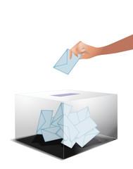 Main qui vote