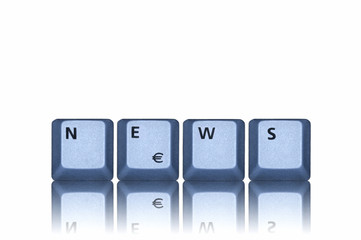 News blau