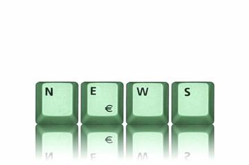 News grün