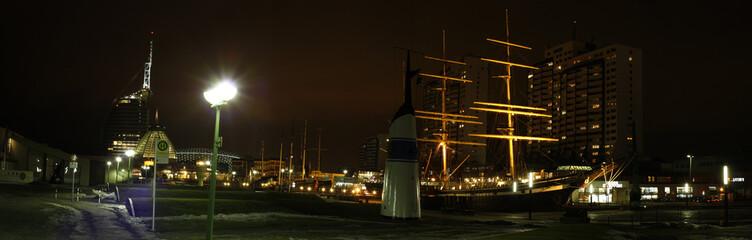 Panorama von Bremerhaven