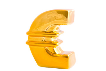 The golden euro logo