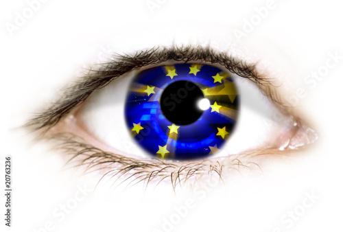 Fototapeten,auge,eye,euro,europa