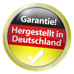 Button garantie1 hergestellt in deutschland