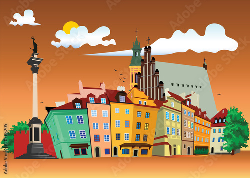 Old Town Warsaw - 20765205