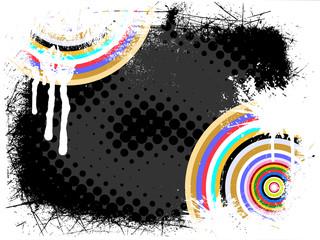 Abstrakter bunter Hintergrund