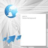 modern vector background with copy space. Eps10 poster