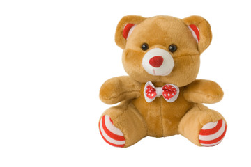 toy brown bear