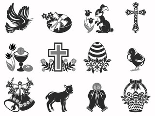 Twelve Easter icons
