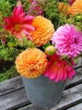 Fototapeta ländlicher Blumenstrauss 18
