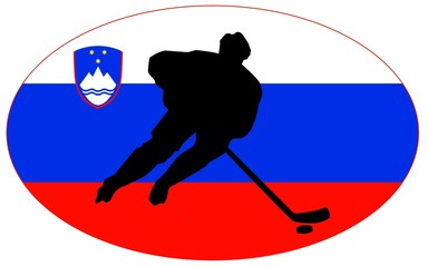 hockey colors of Slovenia