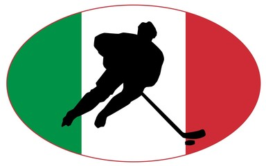 Hockey colors of Italy