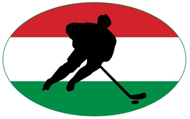 Hockey colors of Hungary
