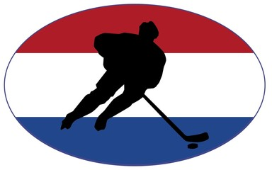 Hockey colors of Netherlands
