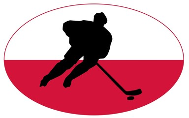 Hockey colors of Poland