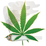 Marijuana-Cannabis-Joint poster