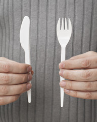 Disposable cutlery