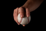 Gripping a Baseball poster
