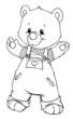 Bär, Teddy, Teddybär, Stofftier, Kuscheltier, Spielzeug