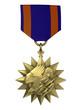 3d render Air medal