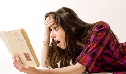 lectrice en action