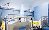 hospital room rehabilitation beds poster