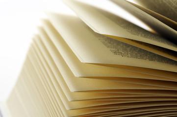 sfogliare le pagine di un libro