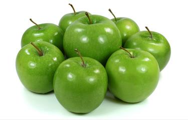 Kleine Äpfel um großen