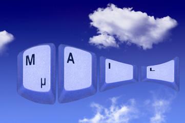 Mail in den Wolken