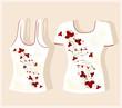 футболки, варианты дизайна - Оксана Решетнева.
