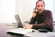 Man at work - phone