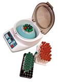 Modern electronic blood centrifuge poster