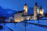 Stockalper Palace, Brig, Switzerland