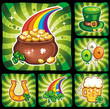 St. Patrick's Day icon set series 3