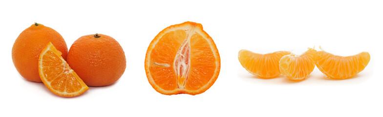 Tangerine segment, mandarin