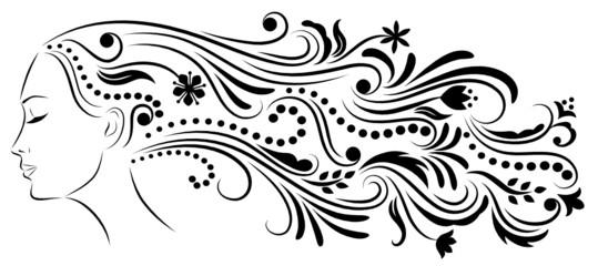 Abstract hair2.
