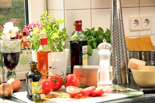 italienisches essen von stefanfister lizenzfreies foto 20804820 auf. Black Bedroom Furniture Sets. Home Design Ideas