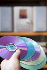 CD audio media