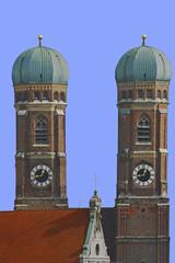 frauenkirche, türme, münchen